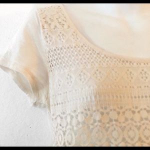 Lucky Brand Tops - Lucky Brand lace front top